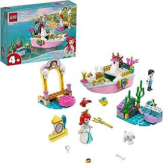 لعبة قارب الاحتفال بالأميرة اريل من ليجو ديزني43191 مجموعة حورية البحر الصغيرة لعمر 4+ سنوات