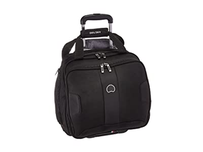 Delsey Sky Max 2-Wheeled Under-Seater (Black) Luggage