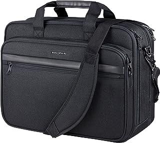 "KROSER 18"" Laptop Bag Premium Laptop Briefcase Fits Up to 17.3 Inch Laptop Expandable Water-Repellent Shoulder Messenger B..."