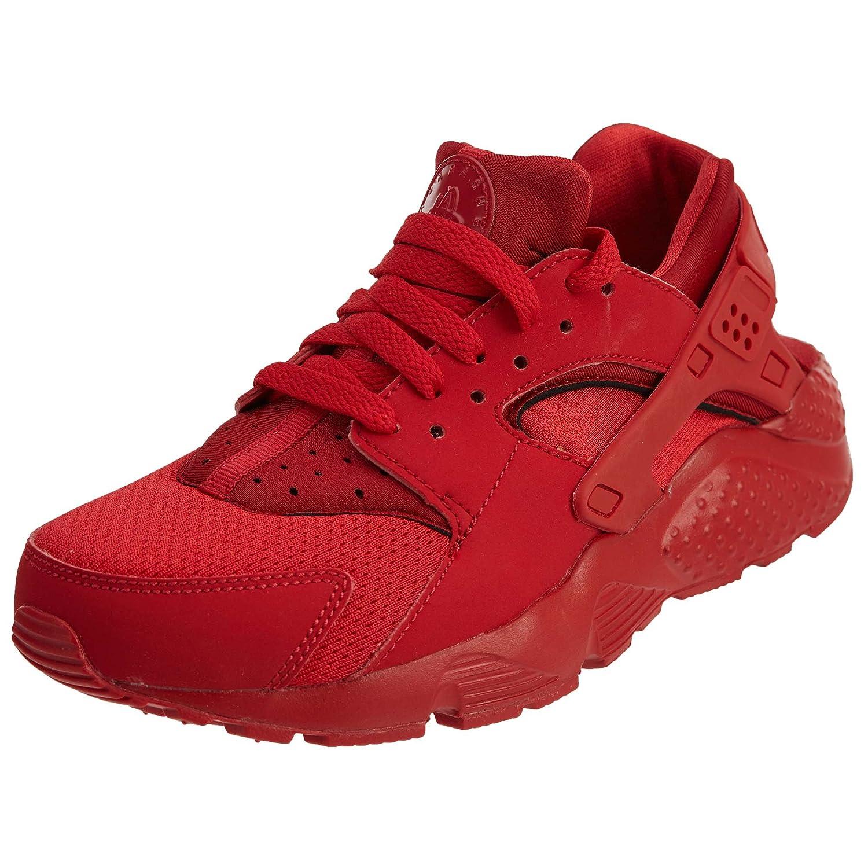 HUARACHE RUN (GS) 'TRIPLE RED' - 654275-600 - SIZE 4