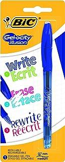 Erasable gel pen BIC Gelocity Illusion blue