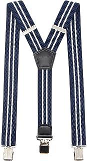 "Suspenders Y-Back Men Premium Stretch Perfect 1.5 ""عرض برای سبک کار کلیپ های سنگین رسمی قوی"
