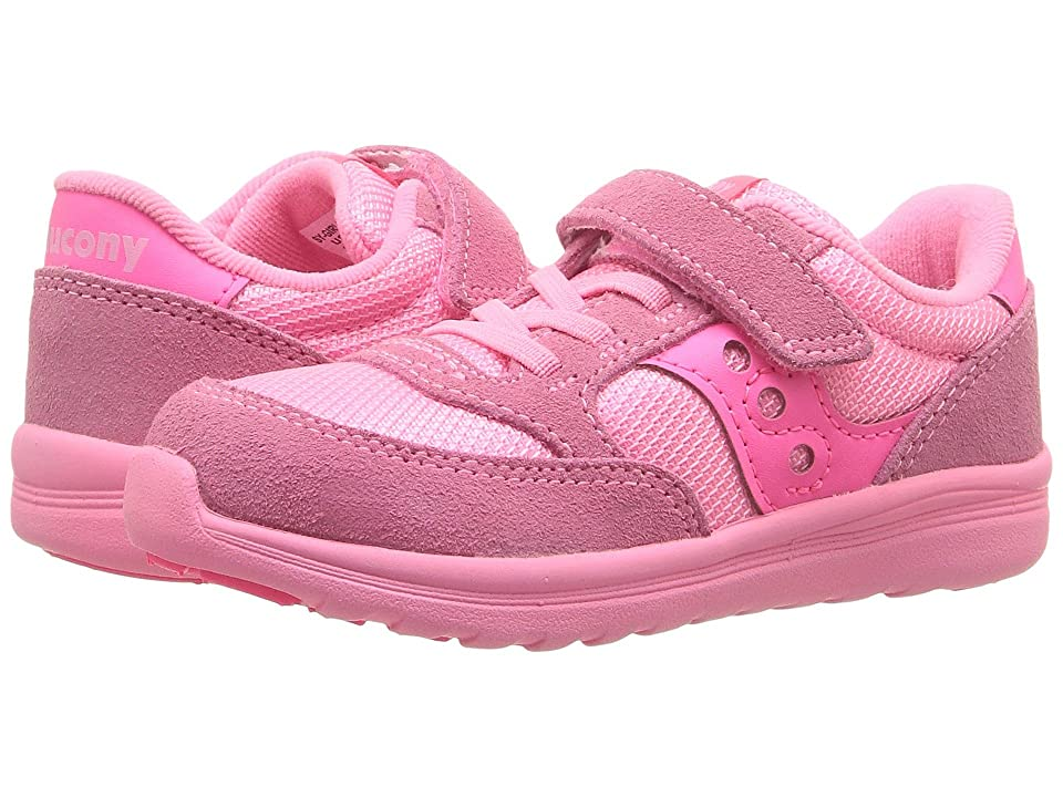 Saucony Kids Originals Jazz Lite (Toddler/Little Kid) (Coral) Girls Shoes