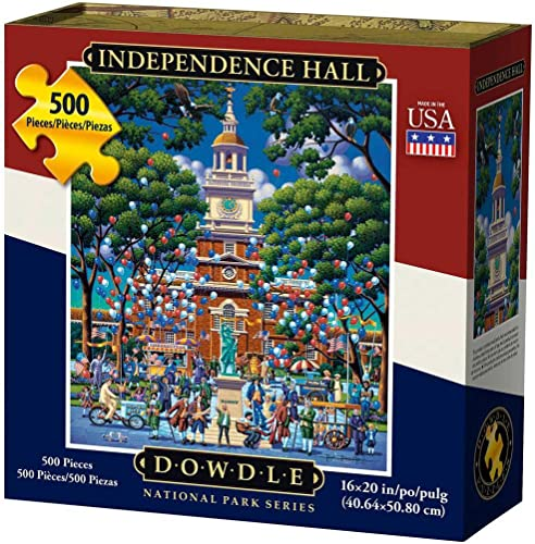 hasta un 65% de descuento Dowdle Puzzle Puzzle Puzzle Independence Hall 500pcs by Dowdle puzzle  tienda de venta