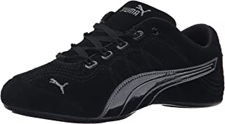 PUMA Women's Soleil V2 Suede Patent Sneaker