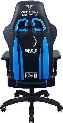 Raynor Gaming NBA2K Energy Pro Series Gaming Chair, Black