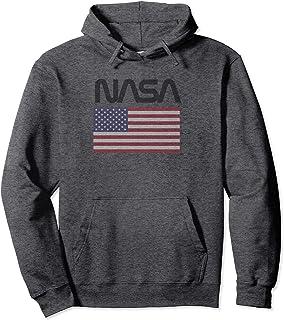 NASA USA Felpa con Cappuccio