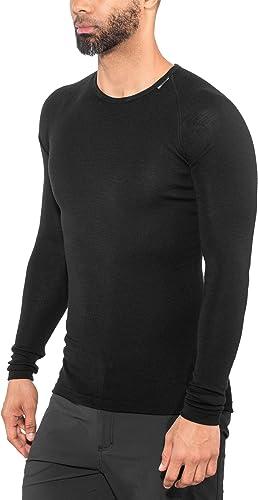 Woolpower Tee-Shirt Manches Longues Crewneck Lite Noir