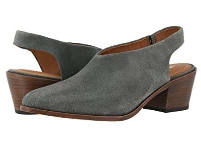 Trask Tess (Gray Oiled Suede) Women