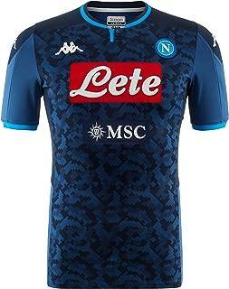Italian Serie A Men's Away Goalkeeper Match Shirt, Blue, XL