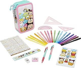 Tsum Tsum Disney Deluxe Pencil Case, Multicolor