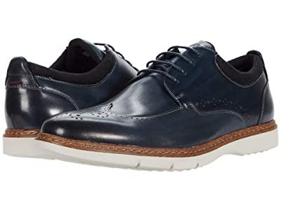 Stacy Adams Synergy Wing Tip Oxford (Blue) Men