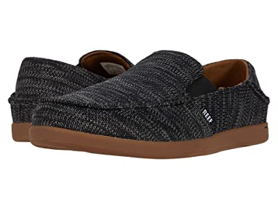 Reef Cushion Bounce Matey Knit (Black/Gum) Men