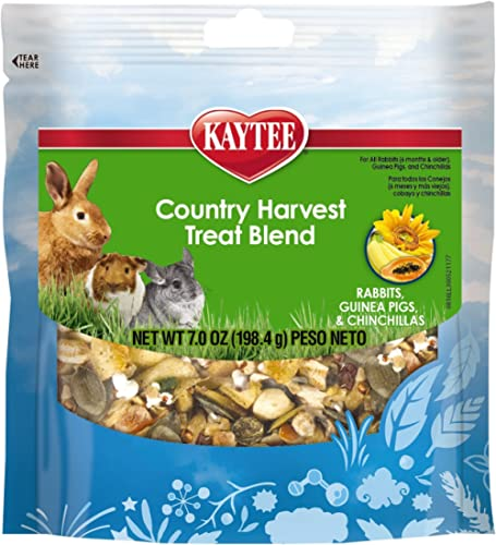Kaytee Fiesta Awesome Country Harvest Treat Blends for Small Animals, 7-Ounce
