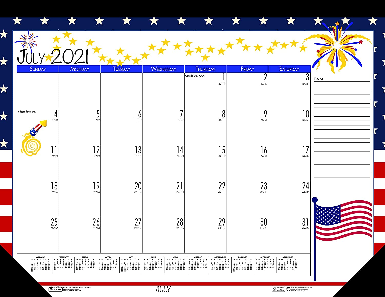 House safety of Doolittle overseas 2021-2022 Monthly Seasonal Calendar Desk Pad