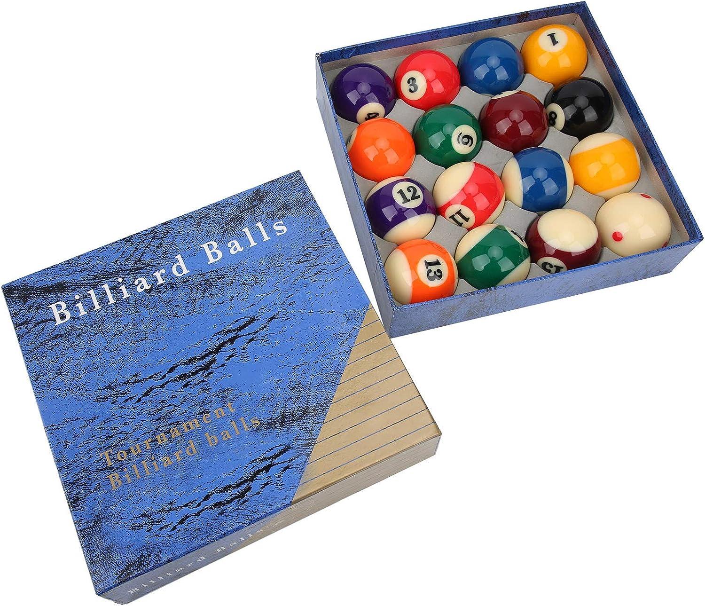 Deror Same day shipping 16Pcs Billiard Balls sold out Set Regulation Resin Ball SizeWeight
