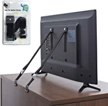 The Baby Lodge TV and Furniture Anti Tip Straps - Safety Furniture Wall Anchors for Baby Proofing Flat Screen TV, Dresser,...