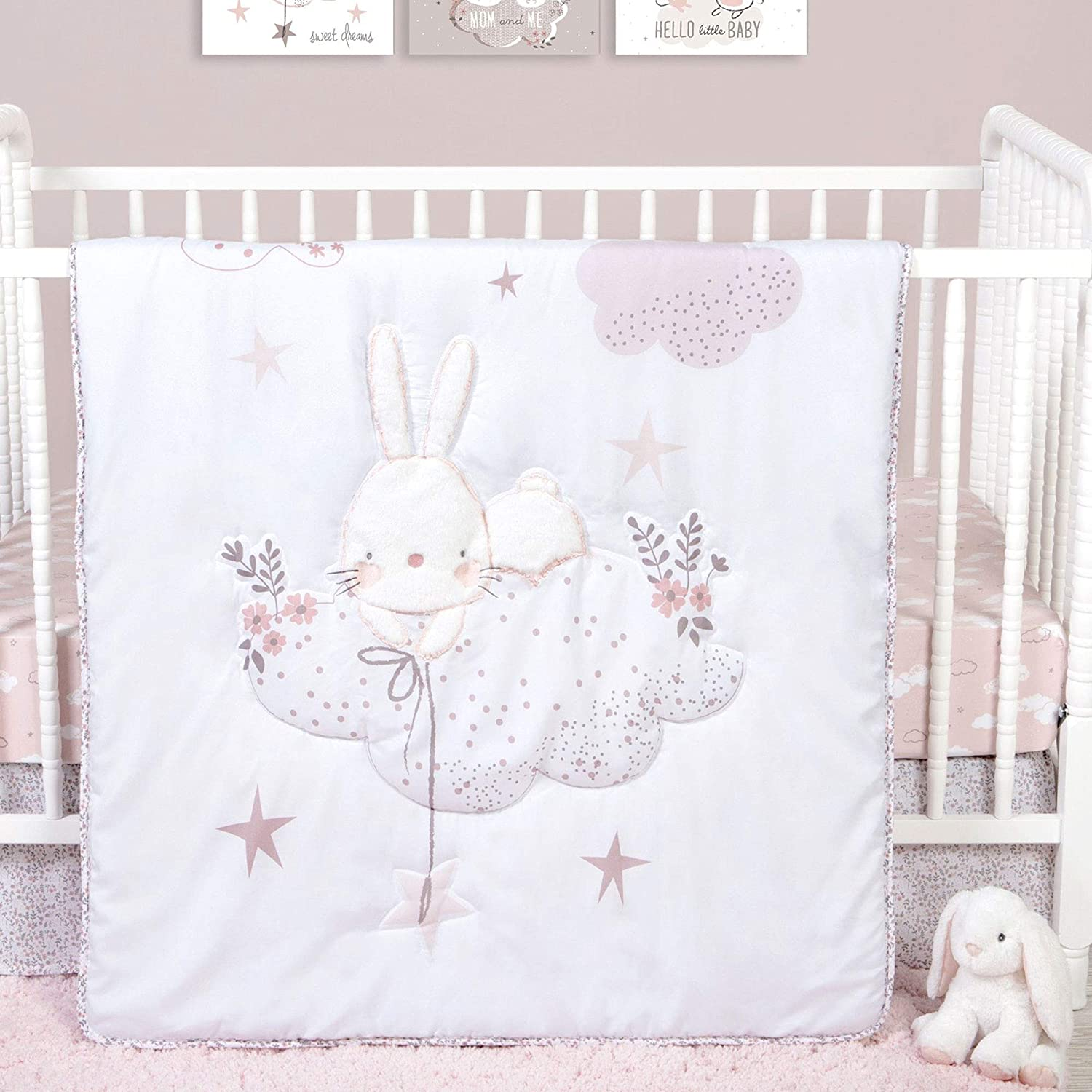 Popular popular Cottontail Cloud Bunny Rabbit and Theme 4 Microfiber Factory outlet Celestial P