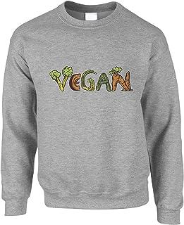 Vegan Jumper Vegetable Lifestyle Illustration Sweatshirt