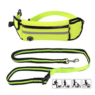 Baconlor Dog Leash Belt Waist Wearing - Durable...