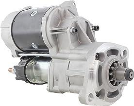 New 24 Volt 4.5KW Starter for Komatsu Excavators 1997-2015 PC60EN-7 PC75UU-3 PC78US-5 PC78UU-6 w Komatsu 4D95LE 0-24000-0030 02-24-2039 600-863-3110 013210 246-25251 S-80511 91-28-4052 0-24000-0040