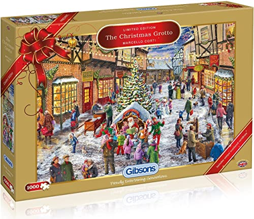 Gibsons The Christmas  te Limited Edition Puzzle (1000 ile)