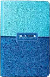 Holy Bible: Blue KJV Bible Giant Print
