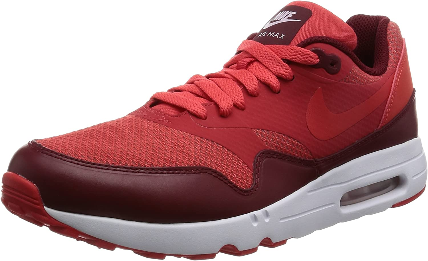 Nike Men's Air Max 1 Ultra 2.0 Essential Track Red   - Team Ankle-High Running shoes 12M