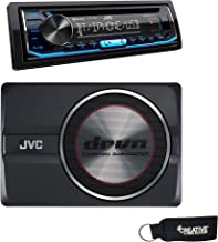 JVC KD-T700BT CD Receiver w/Bluetooth,USB, Pandora, Spotify, 13-Band EQ & JVC CW-DRA8 drvn 8