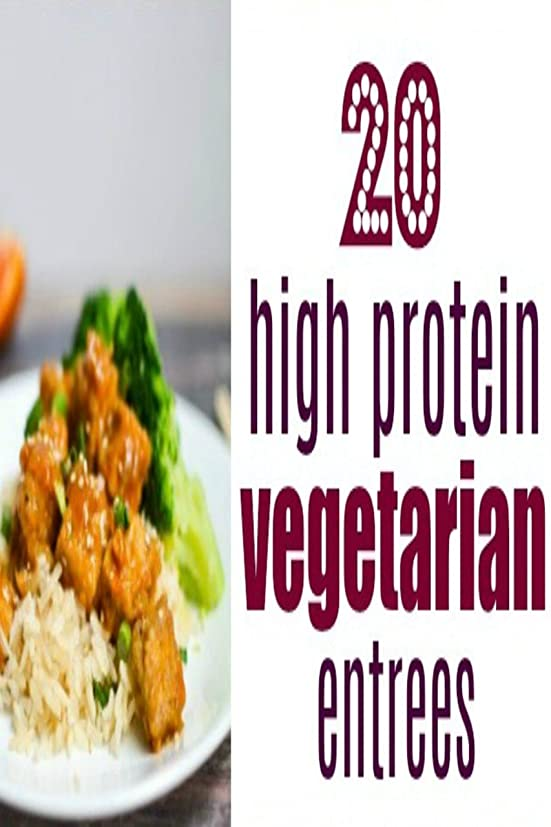 Vegetarian Protein Recipes: VEGETARIAN COOKBOOK: Fast and Easy Vegan Recipes with High Protein and Low Crabs for a Healthy Weight Loss. (English Edition)