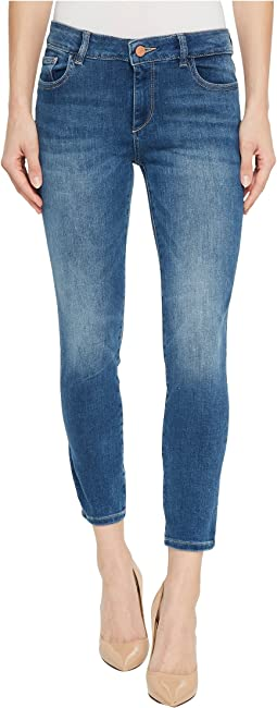 DL1961 Florence Instasculpt Crop Jeans in Everglade