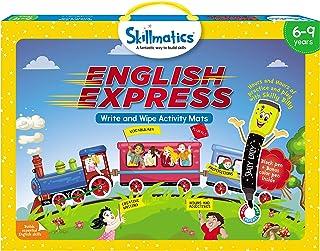 Educational Game English Express 6 9 Years, Multicolor, Skillmatics, SKILL20EEB