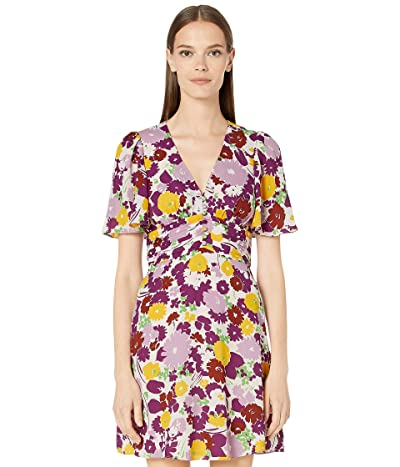 Kate Spade New York Swing Floral Dress (Dark Cream) Women