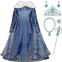 Amazones Vestido Elsa Frozen