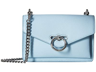 Rebecca Minkoff Jean Crossbody (Powder Blue) Cross Body Handbags