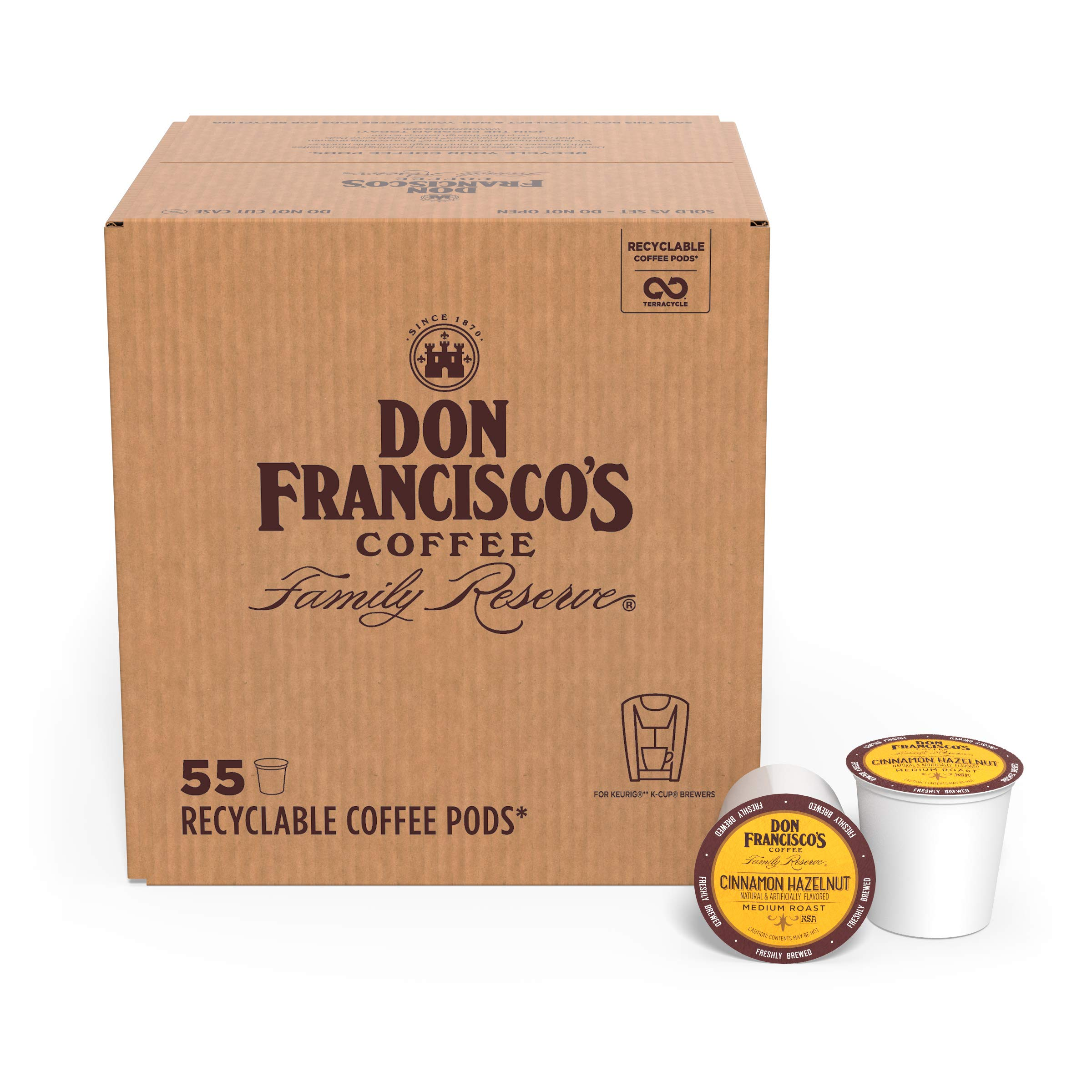 Don Francisco's Flavored K-cup Coffee
