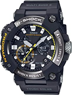 GWFA1000-1A Frogman Men's Watch Black 56.7mm Carbon/Stainless Steel