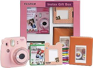 Fujifilm Instax Mini 9 InstantCamera (Clear Pink) Gift Box
