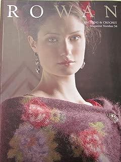 Rowan: Knitting & Crochet, Magazine Number 54