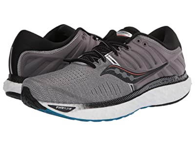Saucony Hurricane 22 (Grey/Black) Men