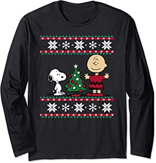 Snoopy and Charlie Christmas Long Sleeve T-shirt