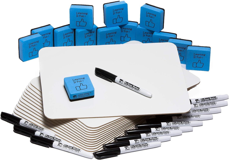Under blast sales Charles Leonard Dry Erase Board Class 9 30 - Pack Includes Popular Each