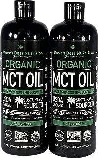 100% Pure MCT Oil Derived from Verified Non-GMO Coconuts