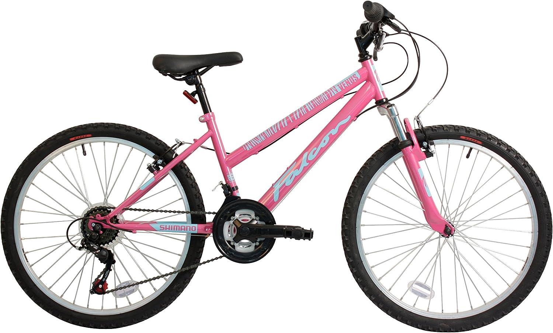 24  Venus Front Suspension BIKE  Mountain Bicycle FALCON (Girls) PINK 18 Speed