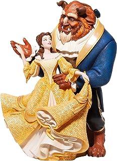 Disney Showcase, Figura de Bella y Bestia bailando, para coleccionar , Enesco