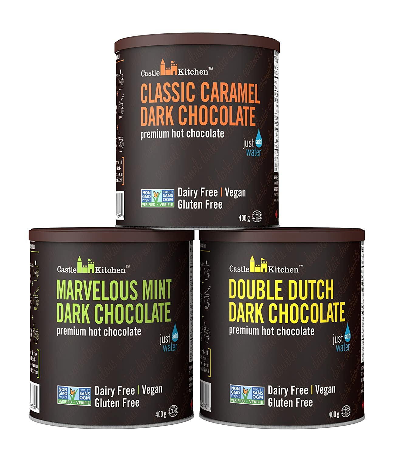 Castle Kitchen Natural Hot Chocolate Mix High quality Ranking TOP20 - Oz Pack 42 Variety
