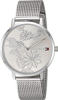Women's Quartz Watch with Stainless-Steel Strap, Silver, 16 (Model: 1781920)