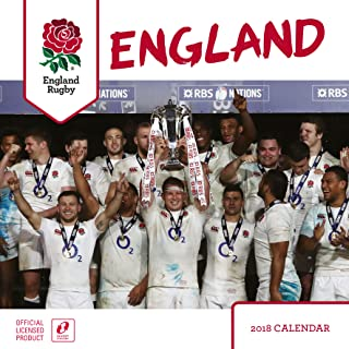 England Rugby Union Official 2018 Calendar - Square Wall Format
