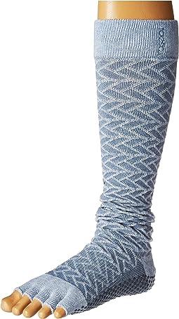 Scrunch Knee High Half Toe w/ Grip