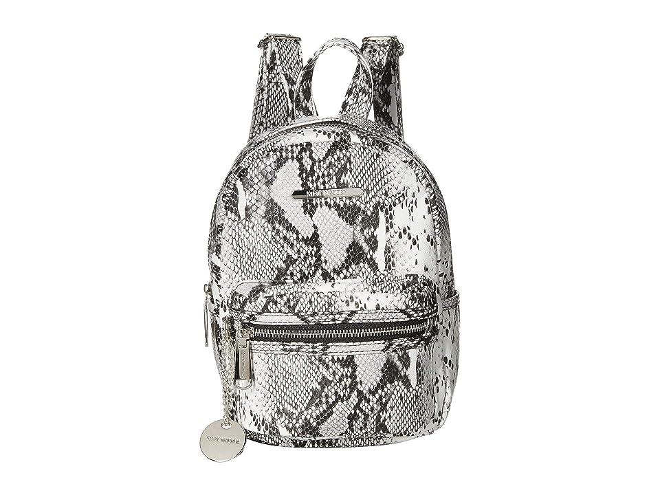 652c2fdd38 Steve Madden Bbailey PVC Backpack (Black/White) Backpack Bags